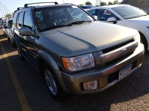 2001 Infiniti QX4 for sale at Affordable 4 All Auto Sales in Elk River MN