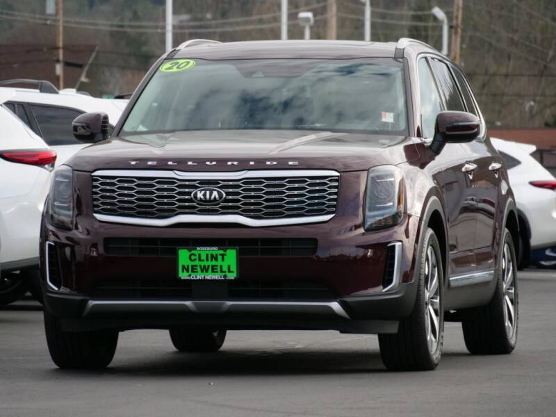 2020 Kia Telluride for sale at CLINT NEWELL USED CARS in Roseburg OR