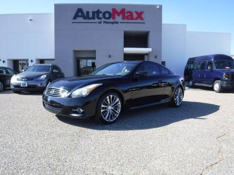 2012 Infiniti G37 Coupe for sale at AutoMax of Memphis - Logan Karr in Memphis TN