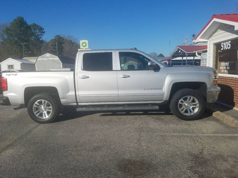 2015 Chevrolet Silverado 1500 for sale at Rocky Mount Motors in Battleboro NC