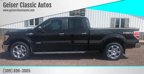 2013 Ford F-150 for sale at Geiser Classic Autos in Roanoke IL