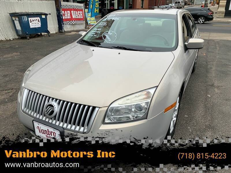 2009 Mercury Milan for sale at Vanbro Motors Inc in Staten Island NY