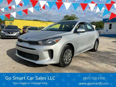 2019 Kia Rio for sale at Go Smart Car Sales LLC in Winter Garden FL