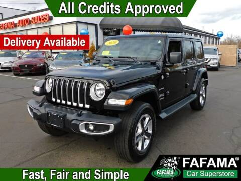 2020 Jeep Wrangler Unlimited for sale at FAFAMA AUTO SALES Inc in Milford MA