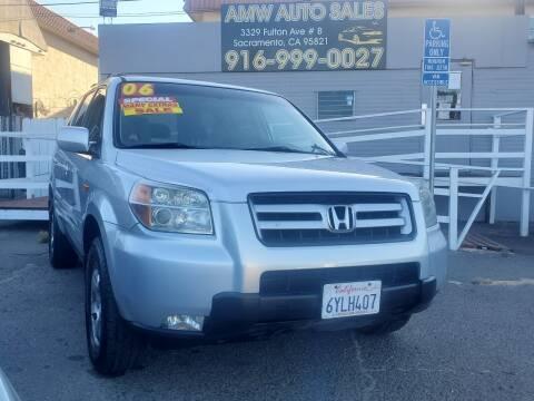 2006 Honda Pilot for sale at AMW Auto Sales in Sacramento CA