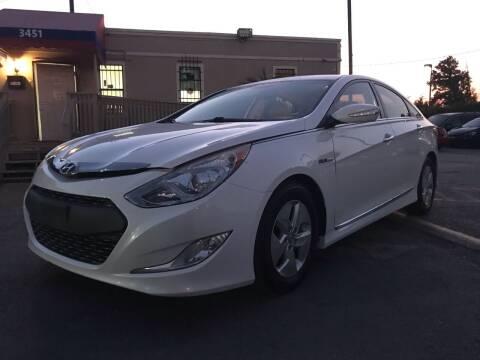 2012 Hyundai Sonata Hybrid for sale at Saipan Auto Sales in Houston TX