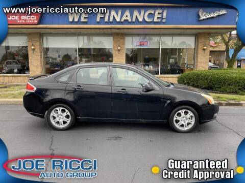 2009 Ford Focus for sale at JOE RICCI AUTOMOTIVE in Clinton Township MI