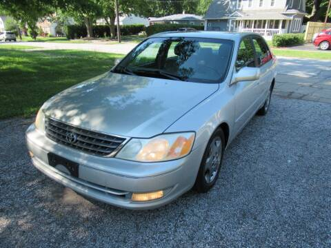2003 Toyota Avalon for sale at Lake County Auto Sales in Painesville OH
