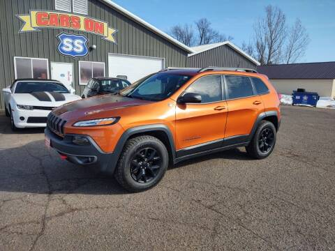 2015 Jeep Cherokee for sale at CARS ON SS in Rice Lake WI