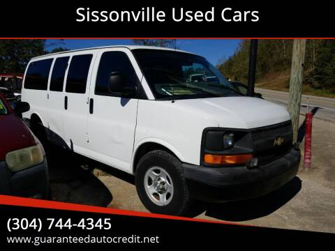 2008 Chevrolet Express Passenger for sale at Sissonville Used Cars in Charleston WV