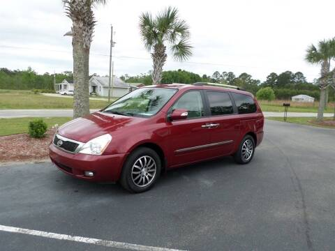 2011 Kia Sedona for sale at First Choice Auto Inc in Little River SC