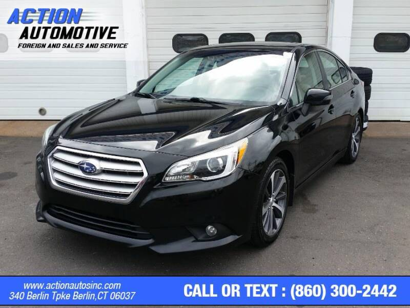 2015 Subaru Legacy for sale at Action Automotive Inc in Berlin CT