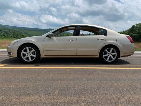 2006 Nissan Maxima for sale at Tennessee Valley Wholesale Autos LLC in Huntsville AL