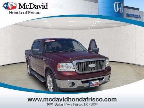 2006 Ford F-150 for sale at DAVID McDAVID HONDA OF IRVING in Irving TX