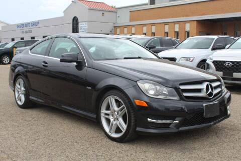 2012 Mercedes-Benz C-Class for sale at SHAFER AUTO GROUP in Columbus OH