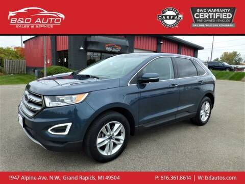 2016 Ford Edge for sale at B&D Auto Sales Inc in Grand Rapids MI