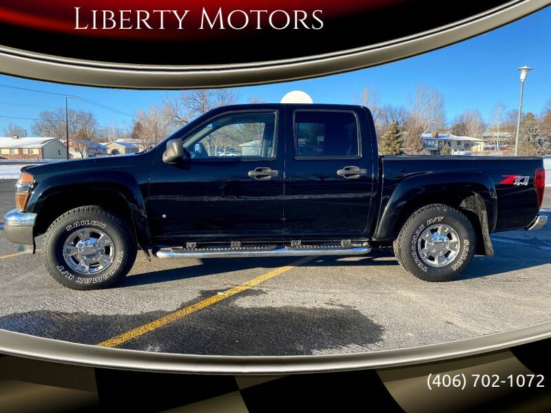 2007 Chevrolet Colorado for sale at Liberty Motors in Billings MT