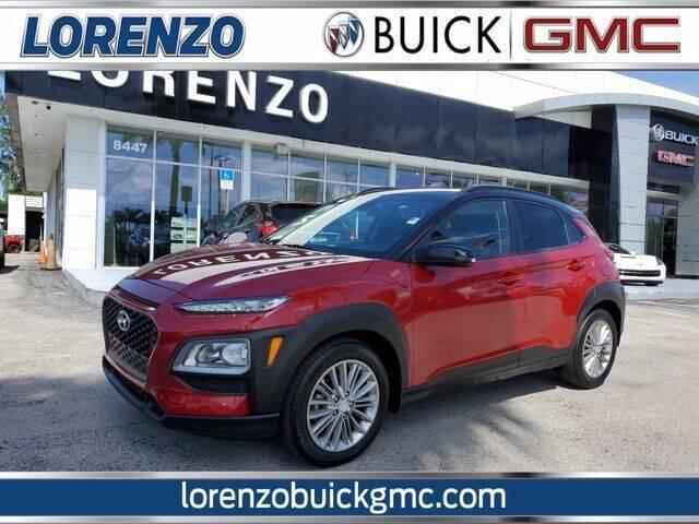 2019 Hyundai Kona for sale at Lorenzo Buick GMC in Miami FL