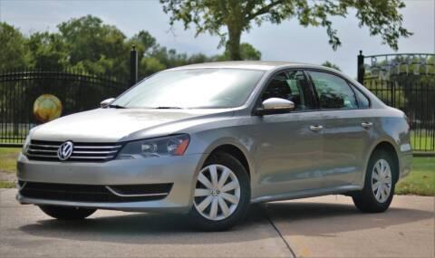 2012 Volkswagen Passat for sale at Texas Auto Corporation in Houston TX