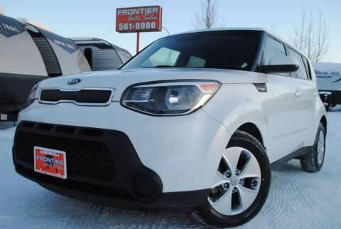 2014 Kia Soul for sale at Frontier Auto & RV Sales in Anchorage AK
