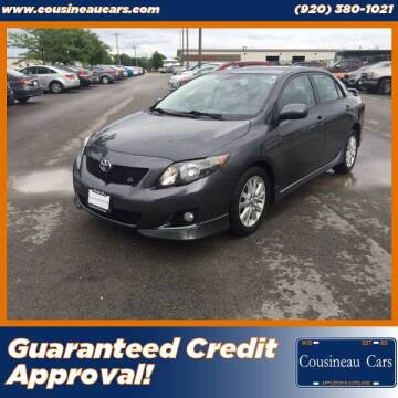 2009 Toyota Corolla for sale at CousineauCars.com - Guaranteed Credit Approval in Appleton WI