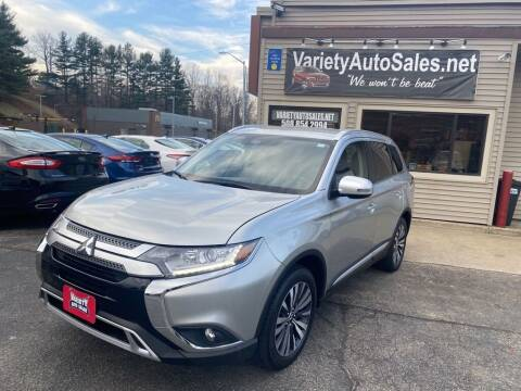 2020 Mitsubishi Outlander for sale at Variety Auto Sales in Worcester MA