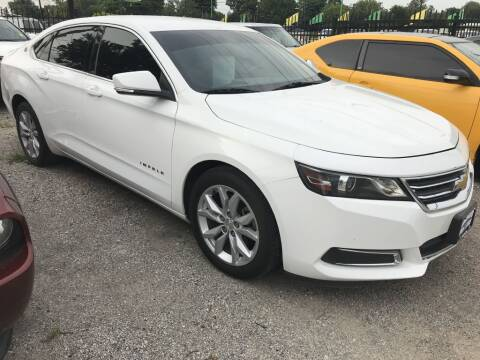 2016 Chevrolet Impala for sale at AMIGO USED CARS in Houston TX