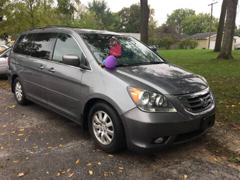 2009 Honda Odyssey for sale at Antique Motors in Plymouth IN