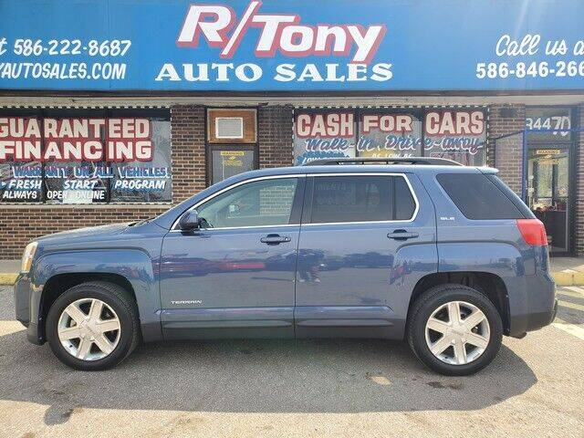 2011 GMC Terrain for sale at R Tony Auto Sales in Clinton Township MI