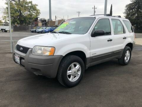 2001 Ford Escape for sale at C J Auto Sales in Riverbank CA