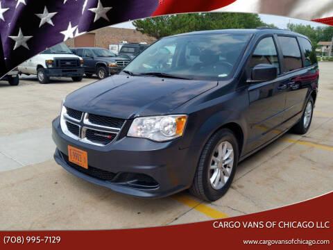 2014 Dodge Grand Caravan for sale at Cargo Vans of Chicago LLC in Mokena IL
