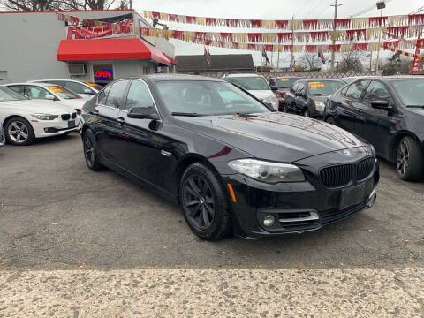 2015 BMW 5 Series for sale at Metro Auto Exchange 2 in Linden NJ