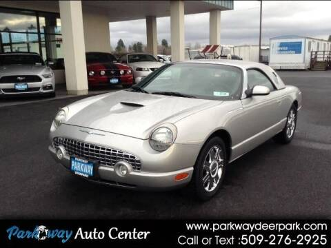 2005 Ford Thunderbird for sale at PARKWAY AUTO CENTER AND RV in Deer Park WA