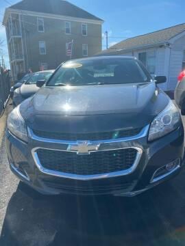 2014 Chevrolet Malibu for sale at Enzo Auto Sales in New Bedford MA