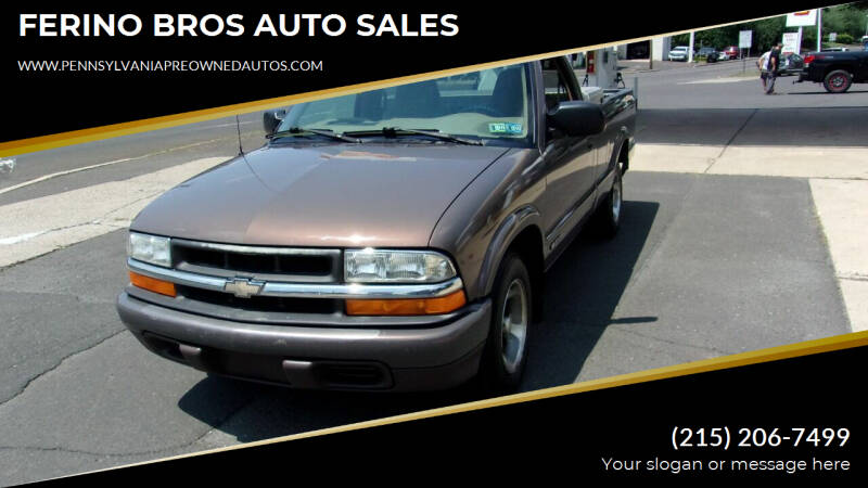1999 Chevrolet S-10 for sale in Wrightstown, PA