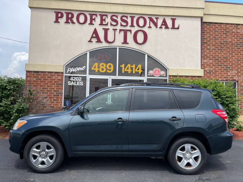 2010 Toyota RAV4 for sale at Professional Auto Sales & Service in Fort Wayne IN