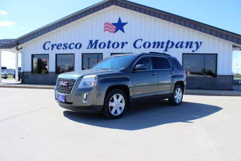2012 GMC Terrain for sale at Cresco Motor Company in Cresco IA