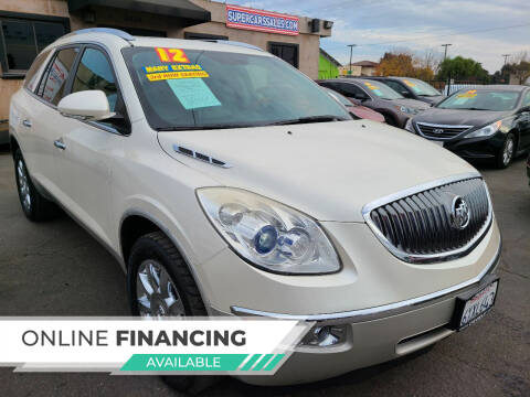2012 Buick Enclave for sale at Super Cars Sales Inc #1 - Super Auto Sales Inc #2 in Modesto CA