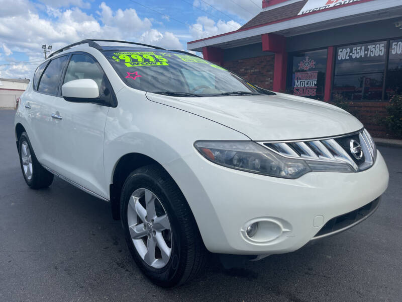2009 Nissan Murano for sale at Premium Motors in Louisville KY