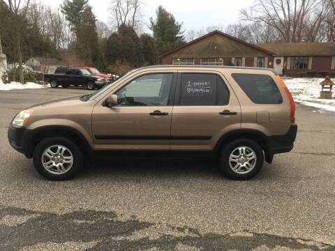 2003 Honda CR-V for sale at Lou Rivers Used Cars in Palmer MA