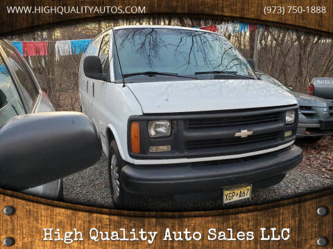2001 Chevrolet Express Cargo for sale at High Quality Auto Sales LLC in Bloomingdale NJ