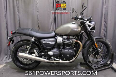 2020 Triumph Street Twin for sale at Powersports of Palm Beach in Hollywood FL