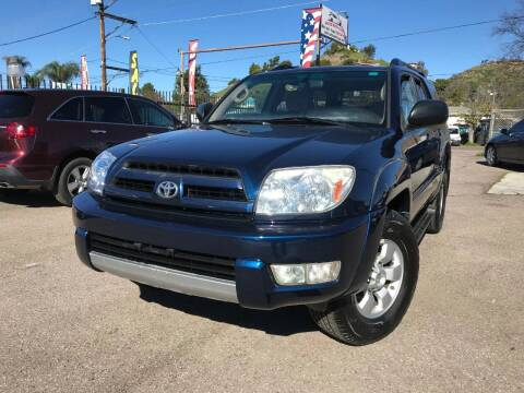 2004 Toyota 4Runner for sale at Vtek Motorsports in El Cajon CA