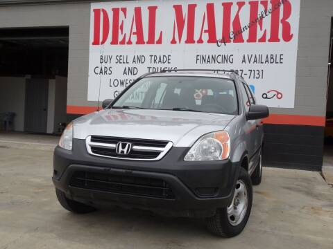 2004 Honda CR-V for sale at Deal Maker of Gainesville in Gainesville FL