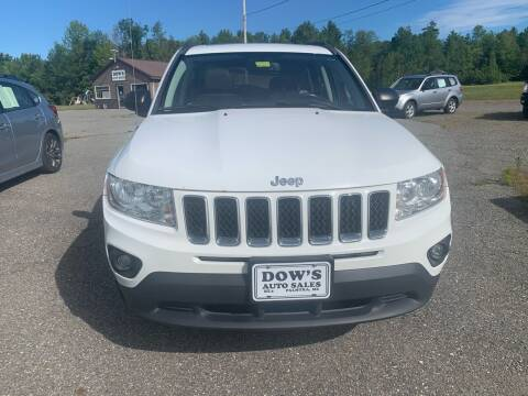 2013 Jeep Compass for sale at DOW'S AUTO SALES in Palmyra ME