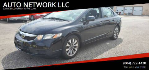 2009 Honda Civic for sale at AUTO NETWORK LLC in Petersburg VA