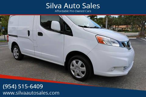 2015 Nissan NV200 for sale at Silva Auto Sales in Pompano Beach FL