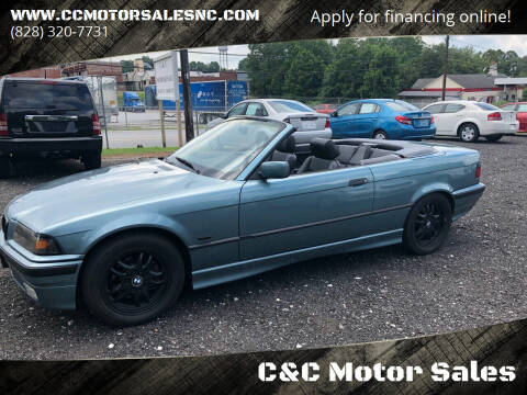 1998 BMW 3 Series for sale at C&C Motor Sales LLC in Hudson NC