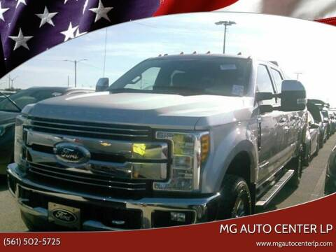 2017 Ford F-250 Super Duty for sale at MG Auto Center LP in Lake Park FL