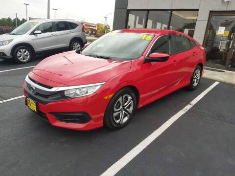 2016 Honda Civic for sale at GS AUTO SALES INC in Milwaukee WI